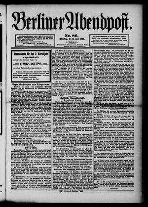 Berliner Abendpost vom 14.04.1890