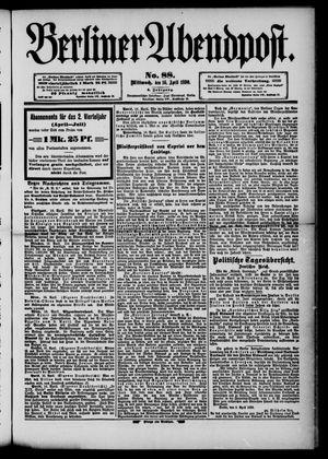 Berliner Abendpost vom 16.04.1890