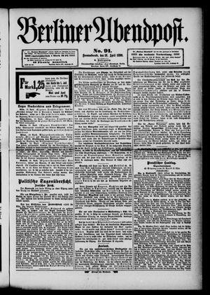 Berliner Abendpost vom 19.04.1890