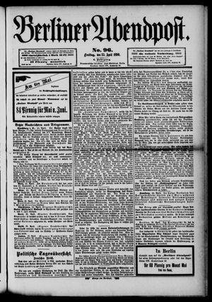 Berliner Abendpost vom 25.04.1890