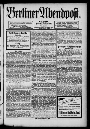 Berliner Abendpost vom 01.05.1890