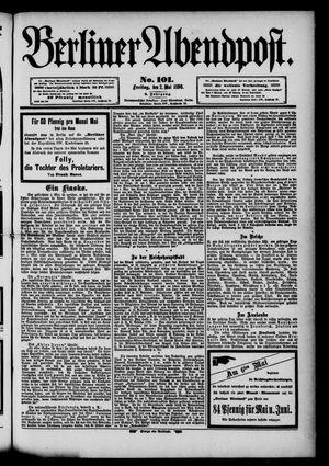 Berliner Abendpost vom 02.05.1890