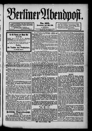 Berliner Abendpost vom 03.05.1890