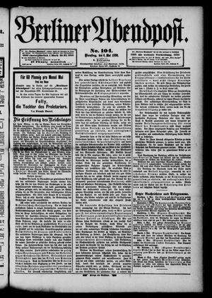 Berliner Abendpost vom 06.05.1890