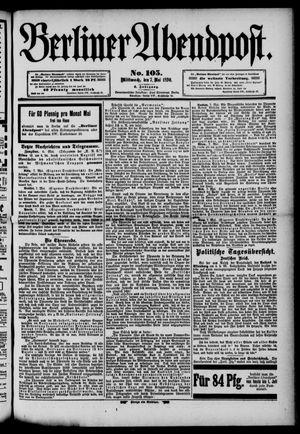 Berliner Abendpost vom 07.05.1890