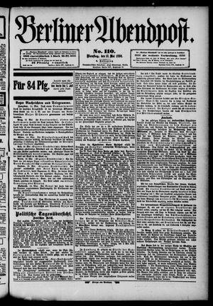 Berliner Abendpost vom 13.05.1890