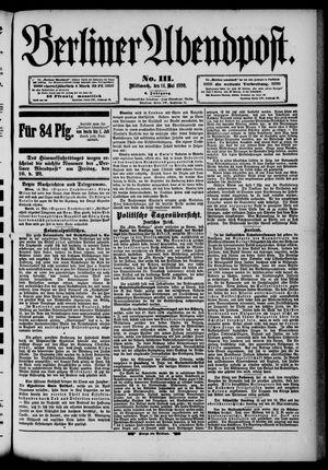 Berliner Abendpost vom 14.05.1890