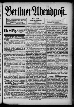 Berliner Abendpost vom 16.05.1890