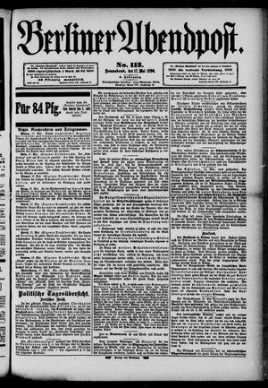 Berliner Abendpost vom 17.05.1890