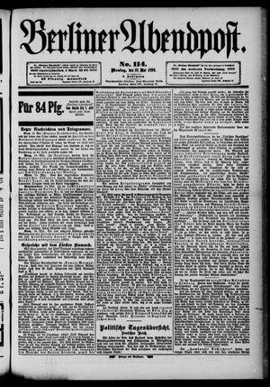 Berliner Abendpost vom 19.05.1890