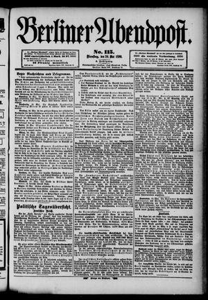 Berliner Abendpost vom 20.05.1890