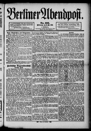 Berliner Abendpost vom 21.05.1890