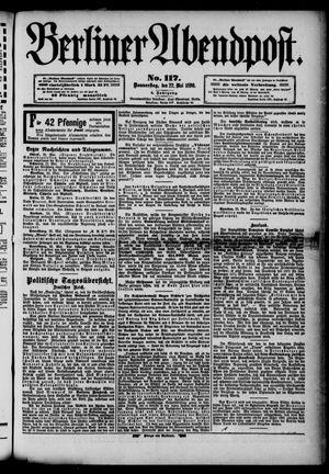 Berliner Abendpost vom 22.05.1890