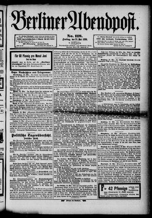 Berliner Abendpost vom 23.05.1890