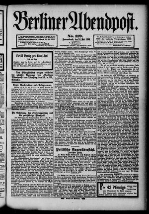 Berliner Abendpost vom 24.05.1890