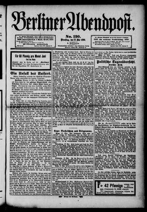Berliner Abendpost vom 27.05.1890