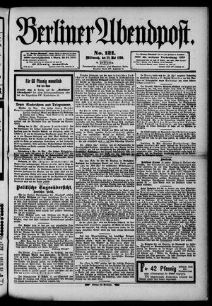 Berliner Abendpost vom 28.05.1890