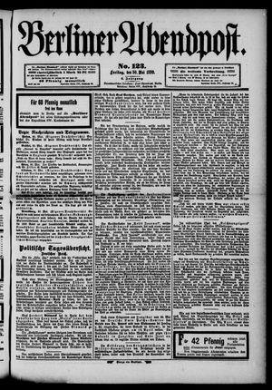 Berliner Abendpost vom 30.05.1890