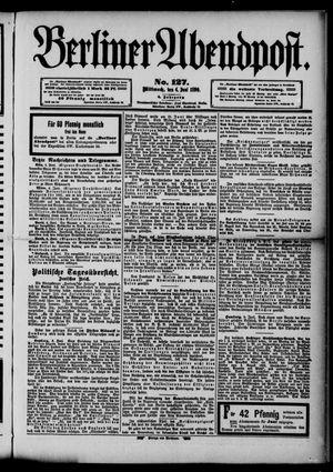 Berliner Abendpost vom 04.06.1890