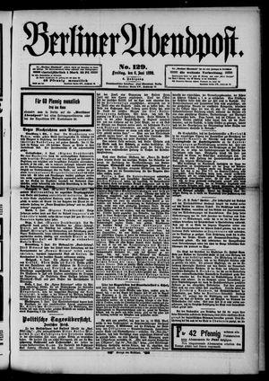 Berliner Abendpost vom 06.06.1890