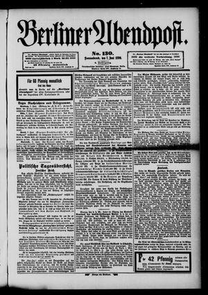 Berliner Abendpost vom 07.06.1890