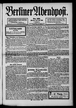 Berliner Abendpost vom 09.06.1890