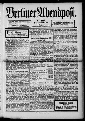 Berliner Abendpost vom 10.06.1890