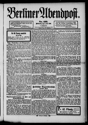 Berliner Abendpost vom 11.06.1890