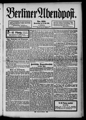 Berliner Abendpost vom 12.06.1890