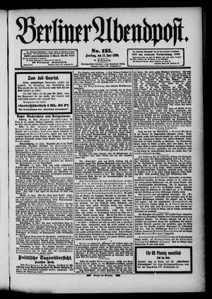 Berliner Abendpost vom 13.06.1890