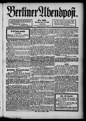 Berliner Abendpost vom 17.06.1890