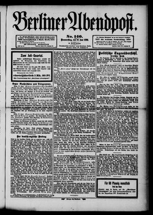 Berliner Abendpost vom 19.06.1890