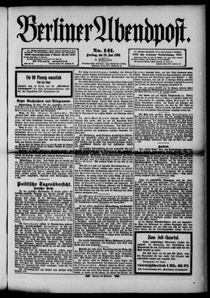Berliner Abendpost vom 20.06.1890