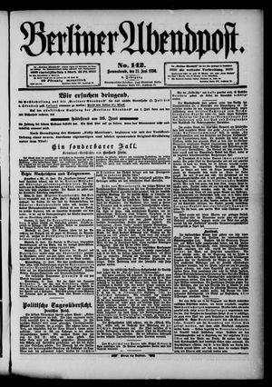 Berliner Abendpost vom 21.06.1890