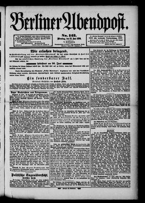 Berliner Abendpost vom 23.06.1890