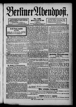 Berliner Abendpost vom 25.06.1890