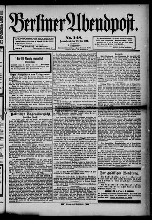 Berliner Abendpost vom 28.06.1890