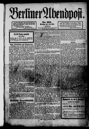 Berliner Abendpost vom 01.07.1890