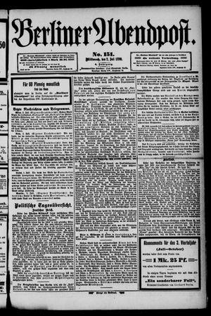 Berliner Abendpost vom 02.07.1890