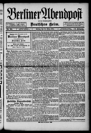 Berliner Abendpost on Mar 13, 1891