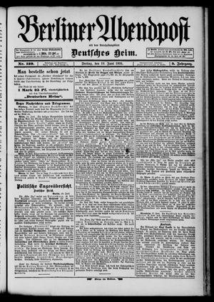 Berliner Abendpost on Jun 19, 1891