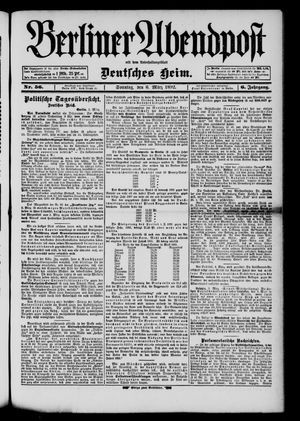Berliner Abendpost on Mar 6, 1892