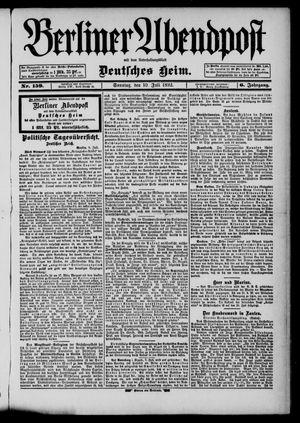 Berliner Abendpost on Jul 10, 1892