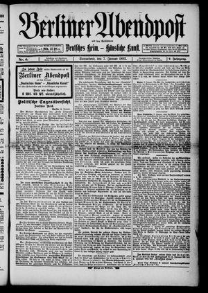 Berliner Abendpost on Jan 7, 1893
