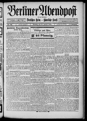Berliner Abendpost on Jan 31, 1893