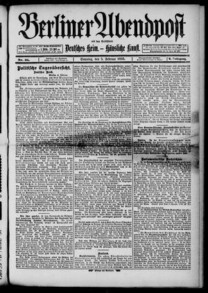 Berliner Abendpost on Feb 5, 1893