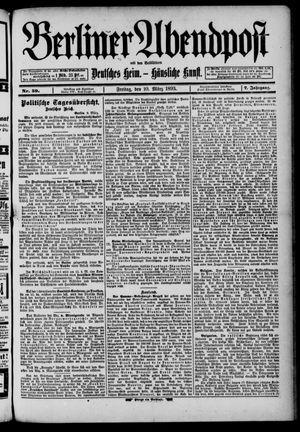 Berliner Abendpost on Mar 10, 1893