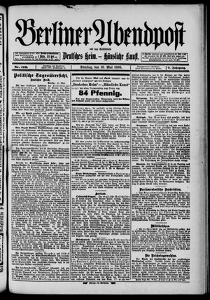 Berliner Abendpost on May 16, 1893