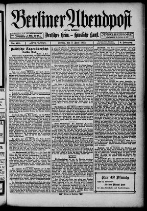 Berliner Abendpost on Jun 2, 1893