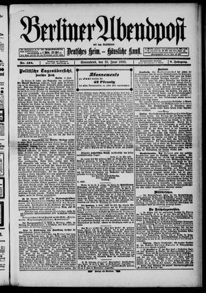 Berliner Abendpost on Jun 10, 1893